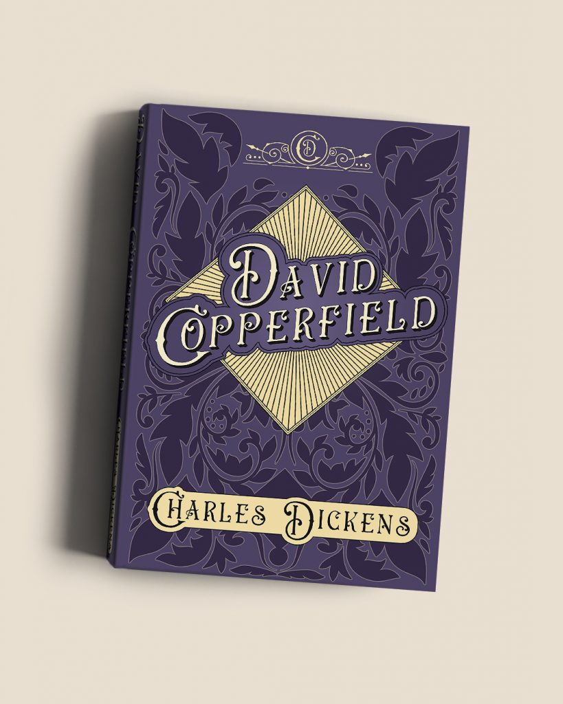 Charles Dickens Collection David Copperfield Blog Book Cover