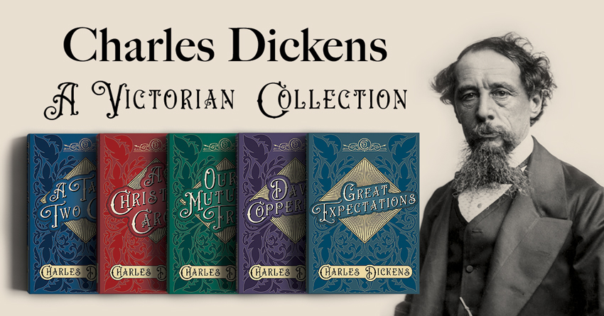 Charles Dickens - A Victorian Collection Blog Banner