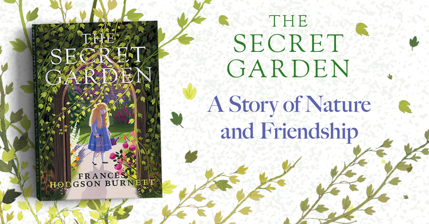 The Secret Garden Blog Banner