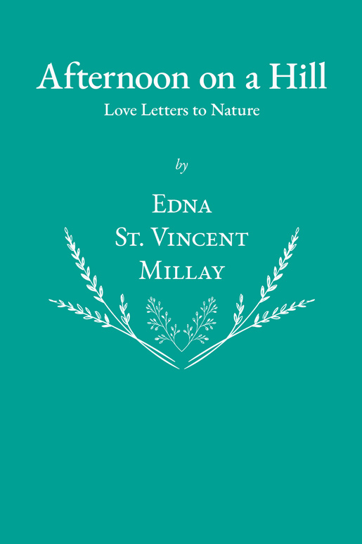 9781528717472 - Afternoon on a Hill - EdnaSt.Vincent Millay