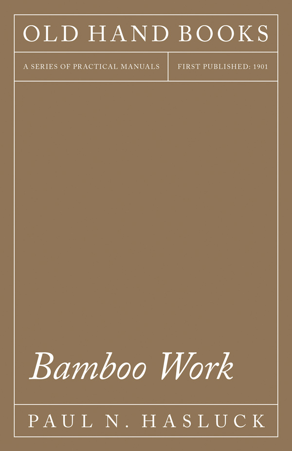 9781528702805 - Bamboo Work - Paul N. Hasluck