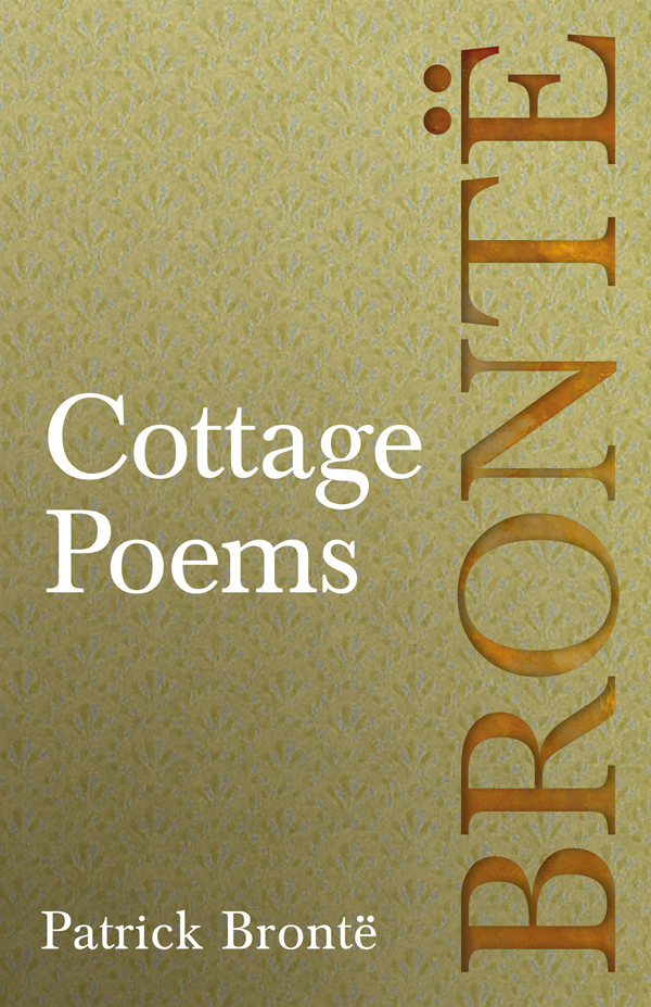 9781528703840 - Cottage Poems - Patrick Brontë
