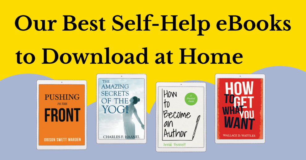 Our Best Self-Help eBooks to Download at Home
