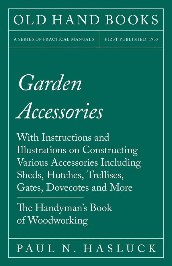 9781528702980 - Garden Accessories - Paul N. Hasluck