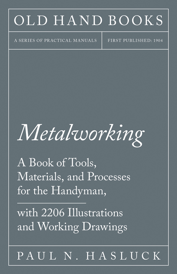 9781528702881 - Metalworking - Paul N. Hasluck