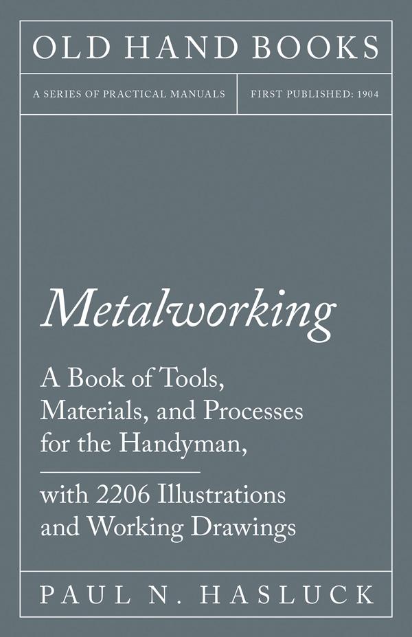 9781528702881 - Metalworking - PaulN. Hasluck