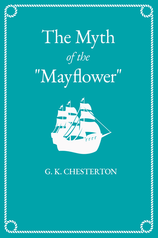"The Myth of the ""Mayflower"""