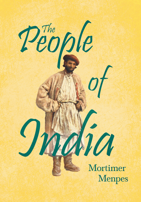 9781528714778 - The People of India - Mortimer Menpes