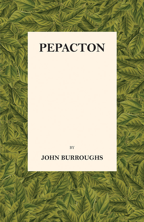 9781444663426 - Pepacton - John Burroughs