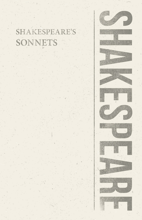 9781408632598 - Shakespeare's Sonnets - William Shakespeare