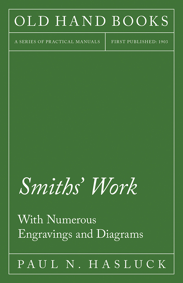 9781528702966 - Smiths' Work - Paul N. Hasluck