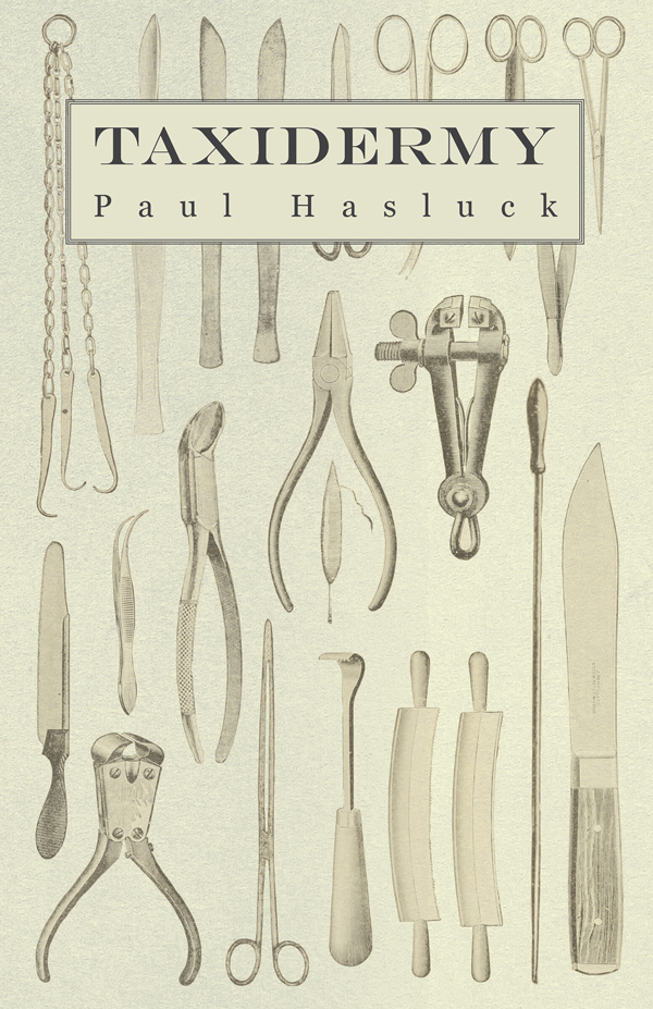 9781444657999 - Taxidermy - Paul Hasluck