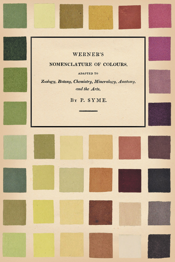 9781528717090 - Werner's Nomenclature of Colours - Patrick Syme