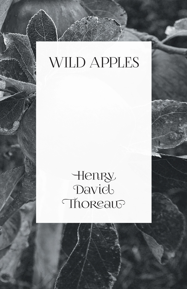 9781473335615 - Wild Apples - Henry David Thoreau